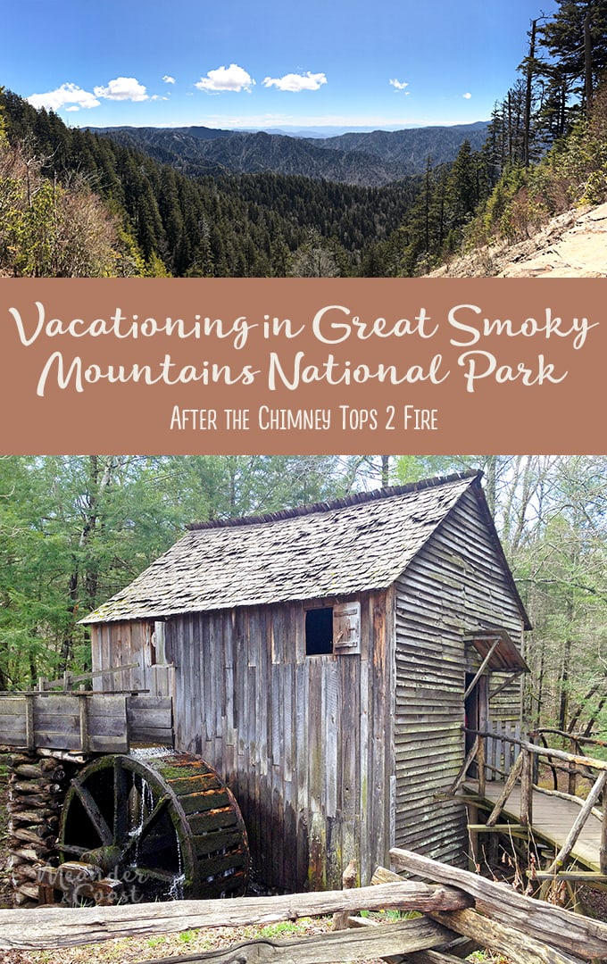 Smoky Mountains National Park Vacation after the Chimney Tops fire. | Meander & Coast