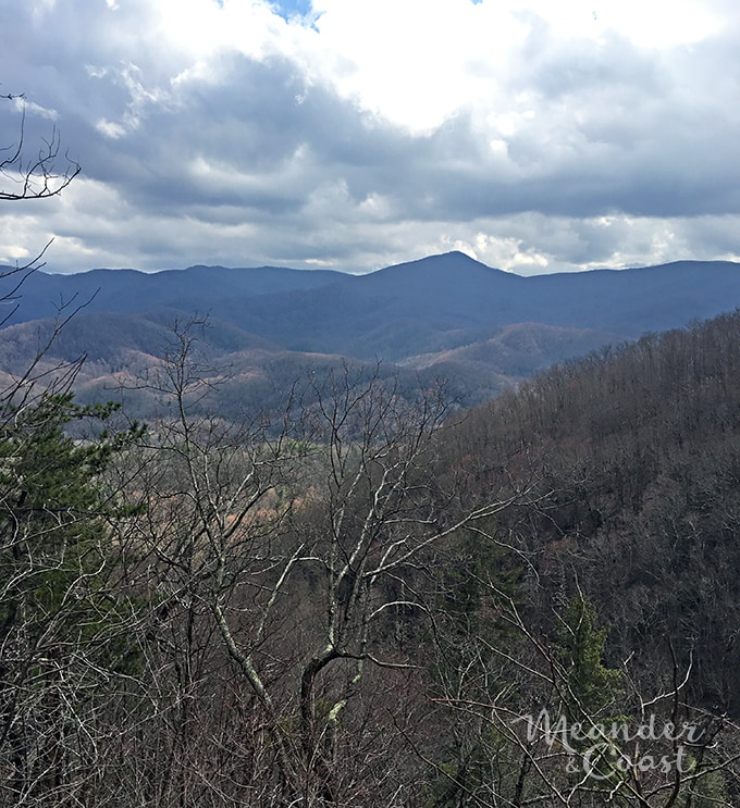 Fantastic mountain views from Laurel Falls Trail. One of the most popular hiking trails in the Smoky Mountains National Park. | Meander & Coast
