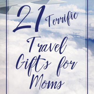 Mom will love any of these terrific travel gift ideas. Mothers' Day options for any budget, from $5 to $500. | Meander & Coast.