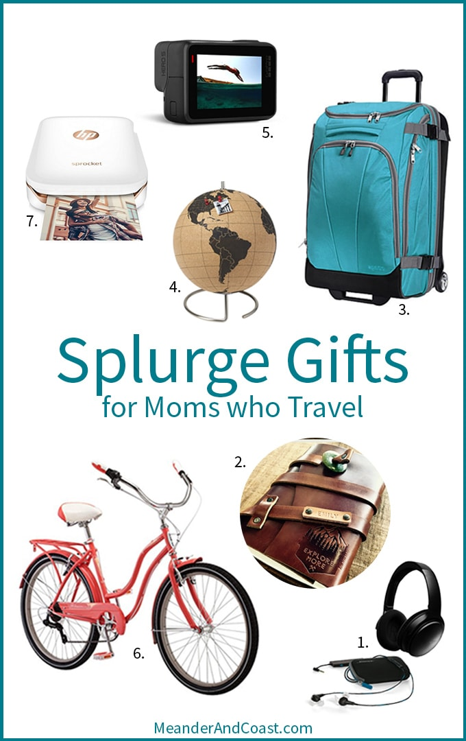 Travel luxuries for moms who love to travel. My mama is worth the splurge! | Meander & Coast