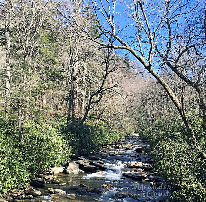 What to expect on your Smoky Mountains vacation after the Chimney Tops Fire. | Meander & Coast