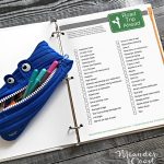 Printable Road Trip Scavenger Hunt for Teens