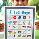 Road Trip Travel Bingo for Kids