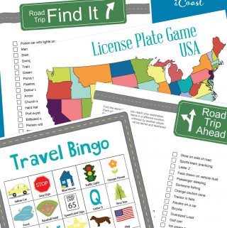 Family Road Trip Car Games and Activities